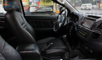 TOYOTA FORTUNER G 2015 full